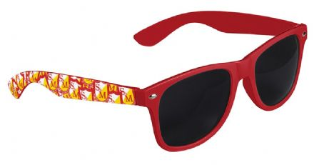 S&M Shield Shades Red